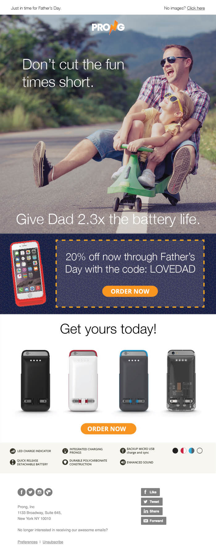 Fathers Day 2016 Prong Email